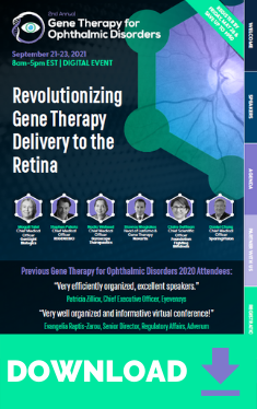 Gene Therapy Ophthalmic Disorders Event Guide Widget